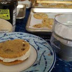 PAMPERED CHEF ICE CREAM SANDWICH MAKER